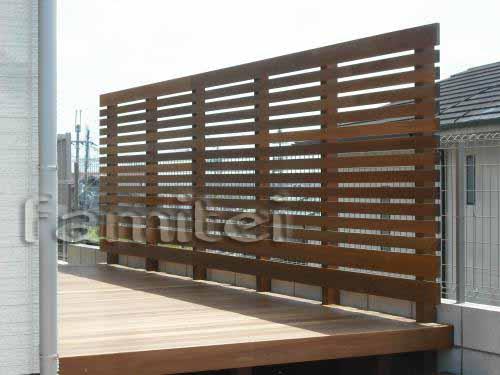 木製フェンス 目隠し ウリン材